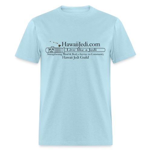 Men's T-Shirt - yoda,the force,lightsaber,light saber,jedi realist,jedi,hawaiian islands,hawaii jedi guild,hawaii jedi,hawaii