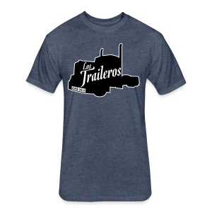 Los Traileros - Fitted Cotton/Poly T-Shirt by Next Level
