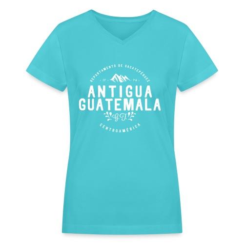 Antigua Guatemala V-Neck (W) - Women's V-Neck T-Shirt