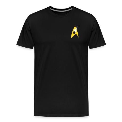 Boldly Bowl, Black & Gold - Men's Premium T-Shirt