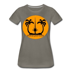 Women's Premium T-Shirt - yoda,the force,palm trees,jedi realist,jedi,hawaiian islands,hawaiian,hawaii jedi guild,hawaii jedi,hawaii