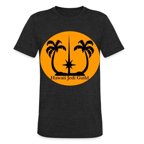 Unisex Tri-Blend T-Shirt - yoda,the force,palm trees,jedi realist,jedi,hawaiian islands,hawaiian,hawaii jedi guild,hawaii jedi,hawaii