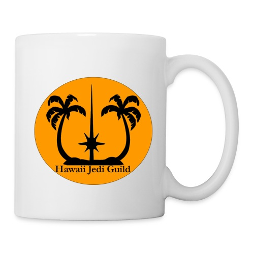 Coffee/Tea Mug - yoda,the force,palm trees,jedi realist,jedi,hawaiian islands,hawaiian,hawaii jedi guild,hawaii jedi,hawaii