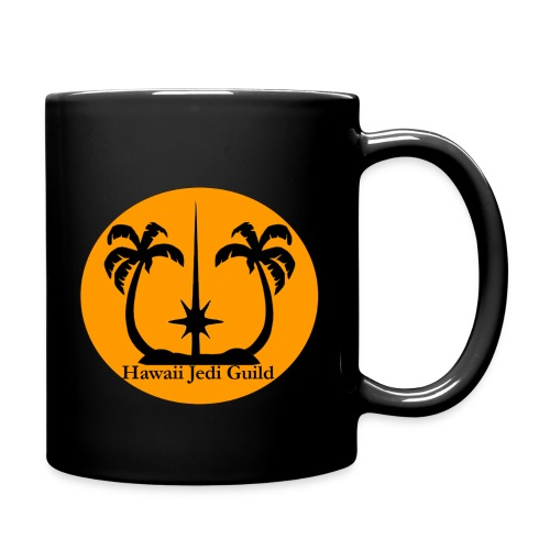 Full Color Mug - yoda,the force,palm trees,jedi realist,jedi,hawaiian islands,hawaiian,hawaii jedi guild,hawaii jedi,hawaii