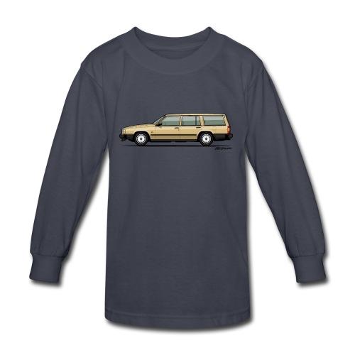 Volvo 740 745 Wagon Gold