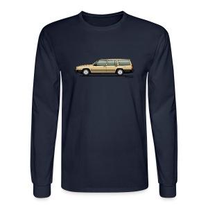 Volvo 740 745 Wagon Gold - Men's Long Sleeve T-Shirt