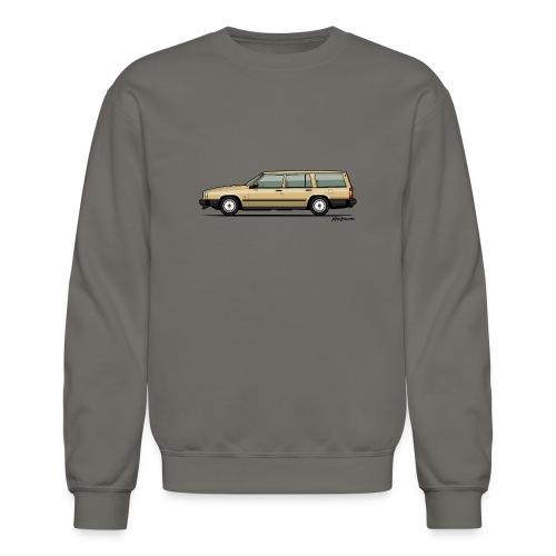 Volvo 740 745 Wagon Gold - Crewneck Sweatshirt