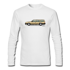 Volvo 740 745 Wagon Gold - Men's Long Sleeve T-Shirt by Next Level