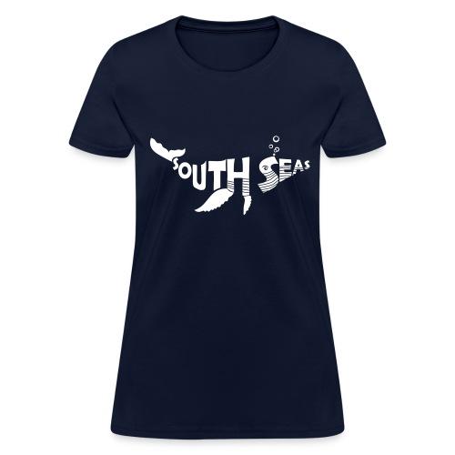 South Seas Whale Women's T-Shirt - Women's T-Shirt