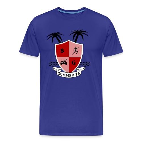Summer Bluee - Men's Premium T-Shirt