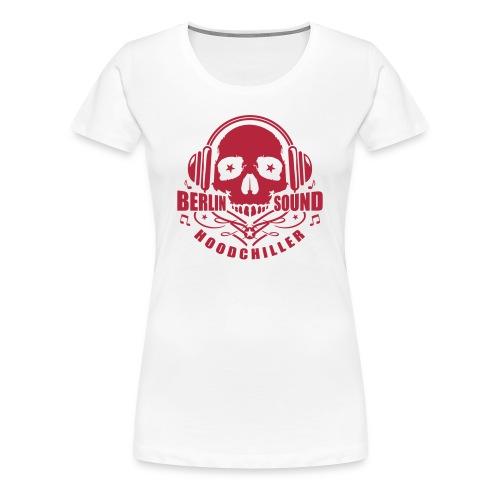 Skull Berlin Sound  - Women's Premium T-Shirt