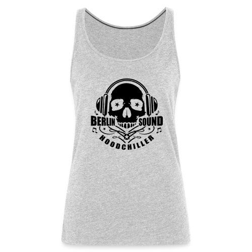 Skull Berlin Sound  - Women's Premium Tank Top