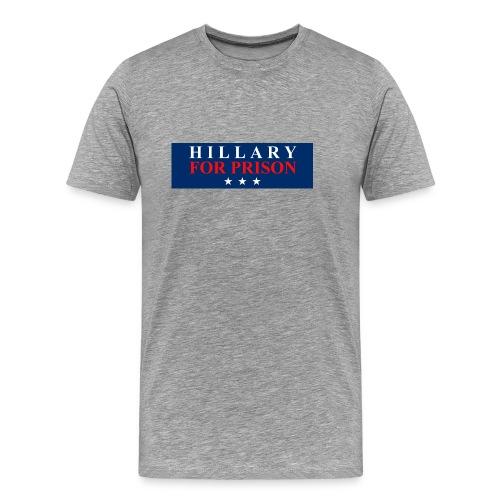 Hillary for Prison - Men's Premium T-Shirt