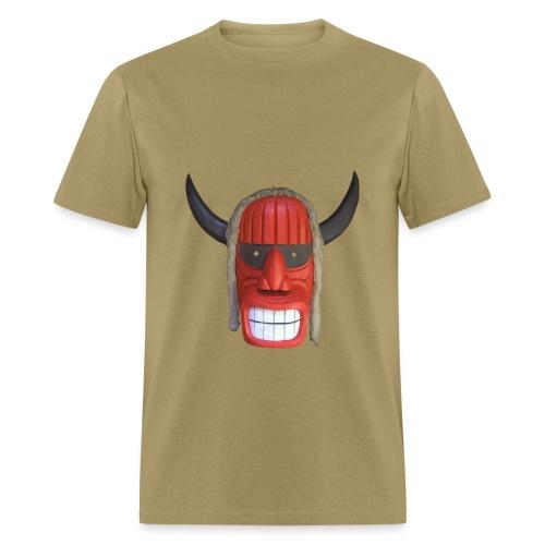 Huron mask - Red - Men's T-Shirt