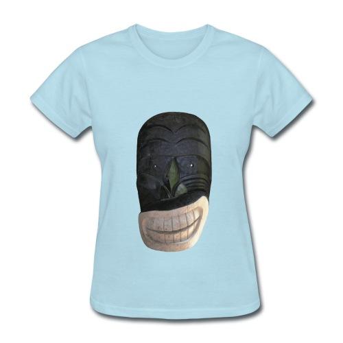 Huron mask - Black - Women's T-Shirt