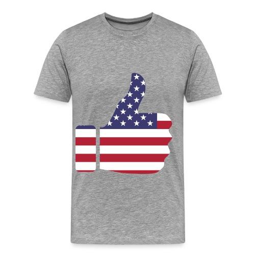 Thumbs Up USA - Men's Premium T-Shirt