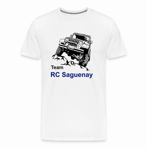 Team RC Saguenay blanc - Men's Premium T-Shirt