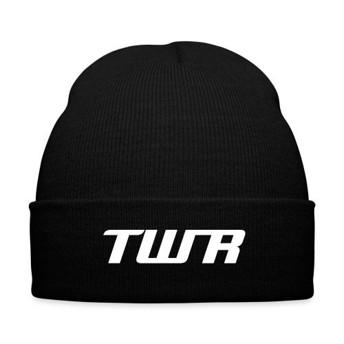 TWR Skully - Knit Cap with Cuff Print