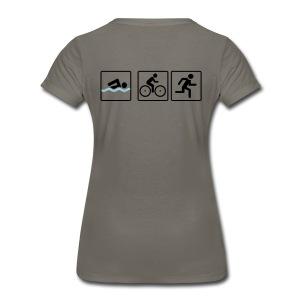 #athlete - Women's Premium T-Shirt