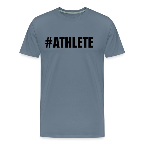 #athlete - Men's Premium T-Shirt