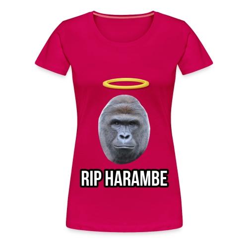 Sick R.I.P Womens Harambe shirt - Women's Premium T-Shirt