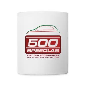 500|SPEEDLAB Logo Mug with Italia Silhouette - Coffee/Tea Mug