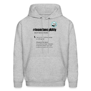 Team Fancy Kitty fundraiser unisex hoodie - Men's Hoodie