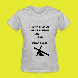 love of Christ tee - Women's T-Shirt