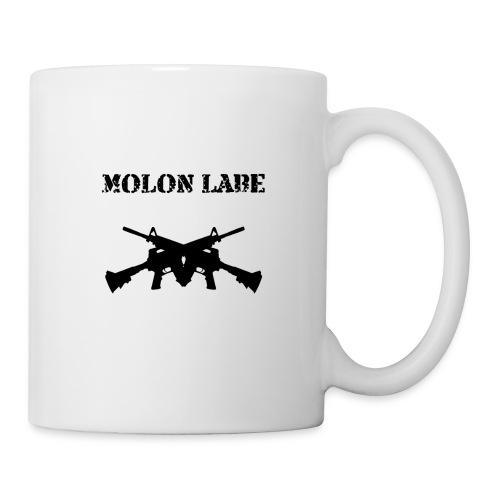 Molon Labe Crossgun Mug - Coffee/Tea Mug