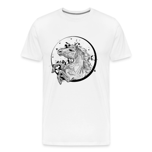 Unisex Shirt: Horse - Men's Premium T-Shirt
