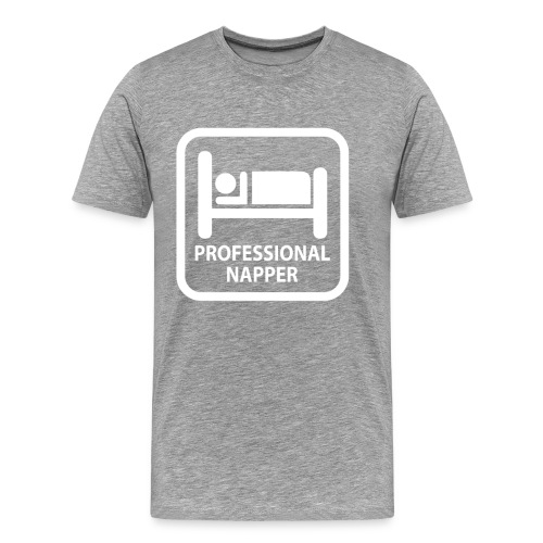professional napper - Men's Premium T-Shirt