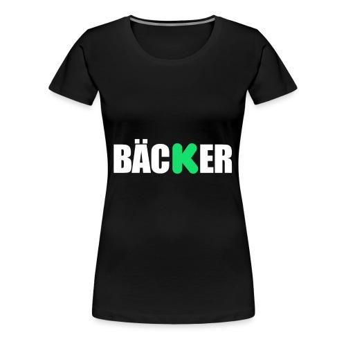 BÄCKER Women's Premium Tee - Women's Premium T-Shirt