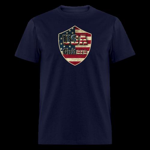USA guitars - Men's T-Shirt