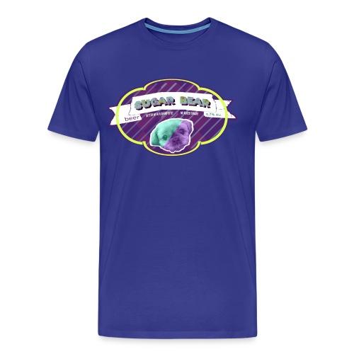 Sugar Bear Beer - Men's Premium T-Shirt