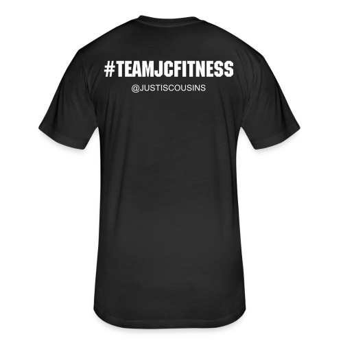 #TeamJCFitness Tee (Men's) - Fitted Cotton/Poly T-Shirt by Next Level