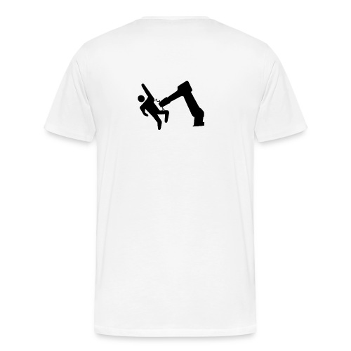Robot Wins - Men's Premium T-Shirt