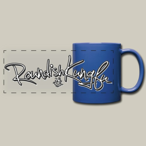 Full Coloured Logo Mug - Full Color Panoramic Mug