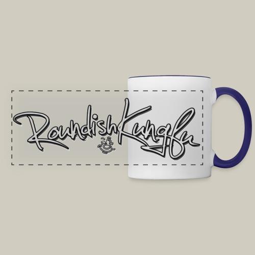 Colored handle Logo Mug - Panoramic Mug