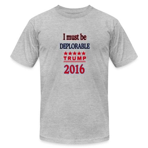 tTump Deplorable - Men's  Jersey T-Shirt
