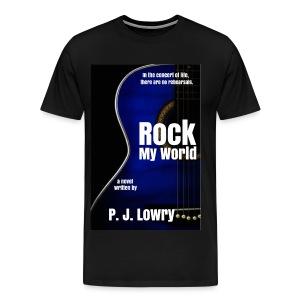 Rock My World New Cover Shirt - Men's Premium T-Shirt