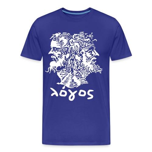 Logos Standard (Royal) - Men's Premium T-Shirt