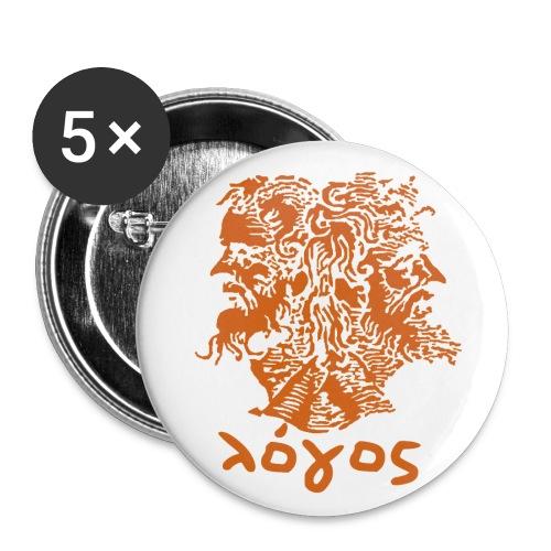 Logos Pins - Large Buttons