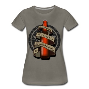Beer is Proof Tattoo T-Shirts - Women's Premium T-Shirt