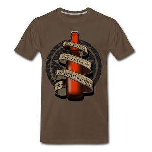 Beer is Proof Tattoo T-Shirts - Men's Premium T-Shirt