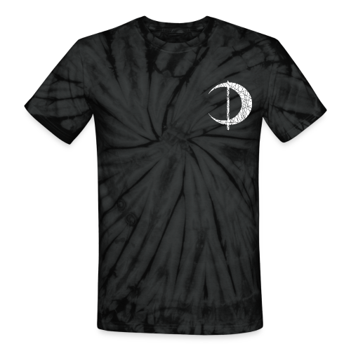 Crescent Tie Dye - Unisex Tie Dye T-Shirt