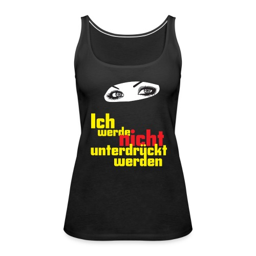 Bare Arms, Oh My! - Women's Premium Tank Top
