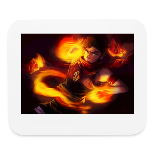 Flame On  - Mouse pad Horizontal