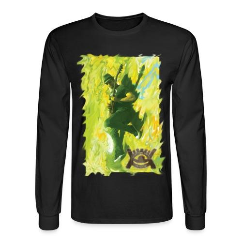 Flying Male Tee - Men's Long Sleeve T-Shirt