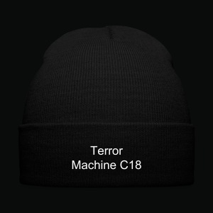 C18 Bennie  - Knit Cap with Cuff Print