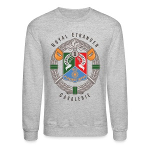 1er REC Badge - Foreign Legion - Sweatshirt - Light - Crewneck Sweatshirt